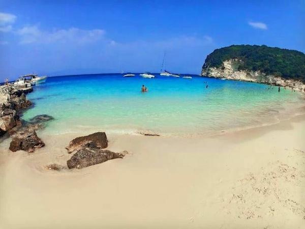 най красивите плажове в гърция врика почивка