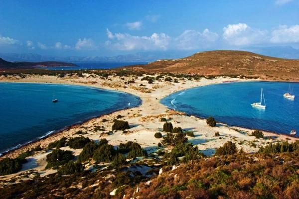 най красивите плажове в гърция симос дестинация пясък