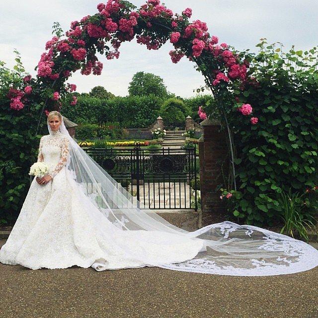 сватбата-на-ники-хилтън инстаграм-сватбени-снимки