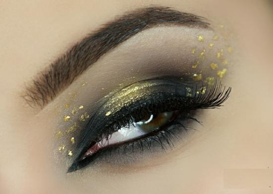 опушен-грим-за-очи-сиво-златно