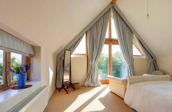 пердета завеси за спалня модерен стил