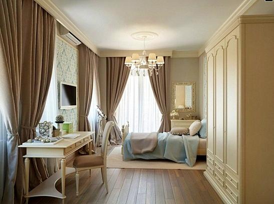 завеси пердета за спалня класически стил