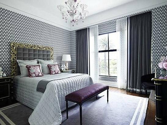 завеси пердета за спалня модерен интериорен дизайн