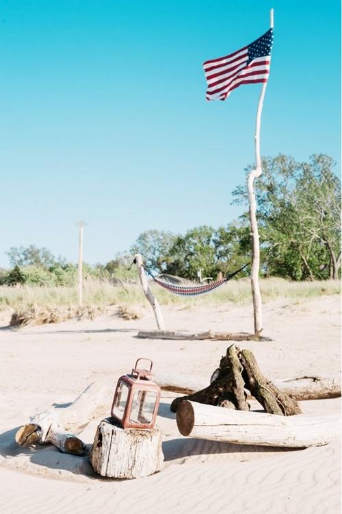 пикник на плажа хамак