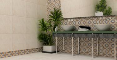 Интериорно изкуство от плочки за баня