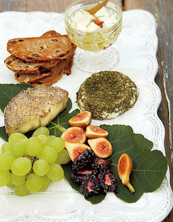 рецепти за пикник плодове сирена