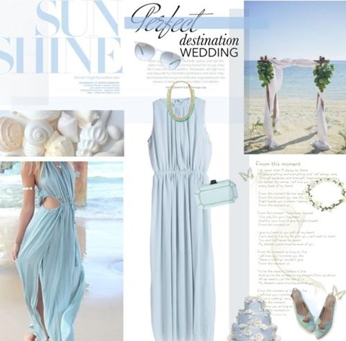 сватба на плажа визии рокли