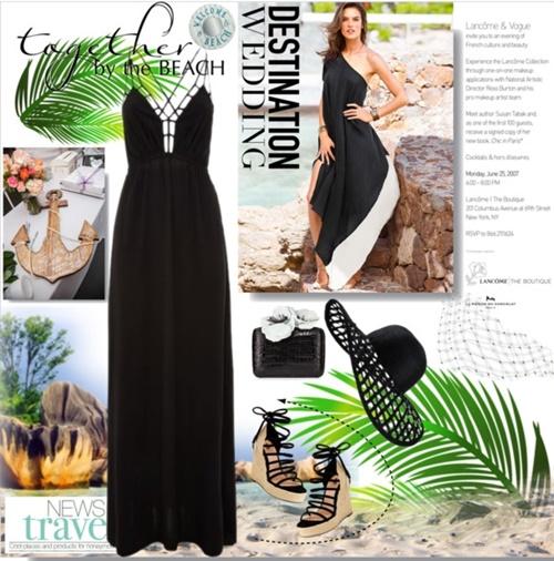 сватба на плажа визии рокля