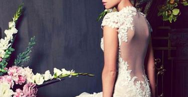 сватбени рокли с гол гръб