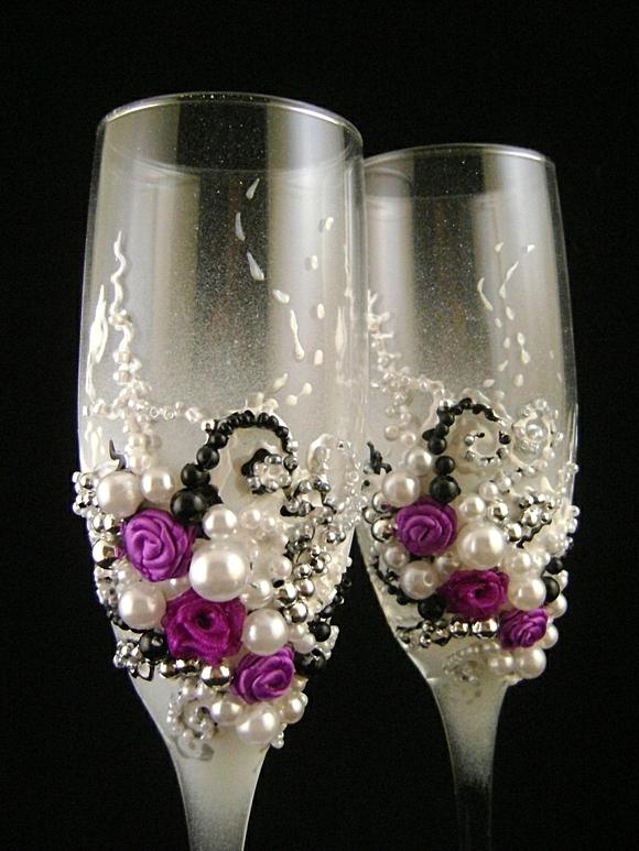 сватбени-чаши-перли-цветя
