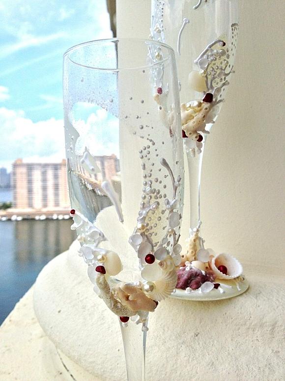 сватбени-чаши-декорация-миди