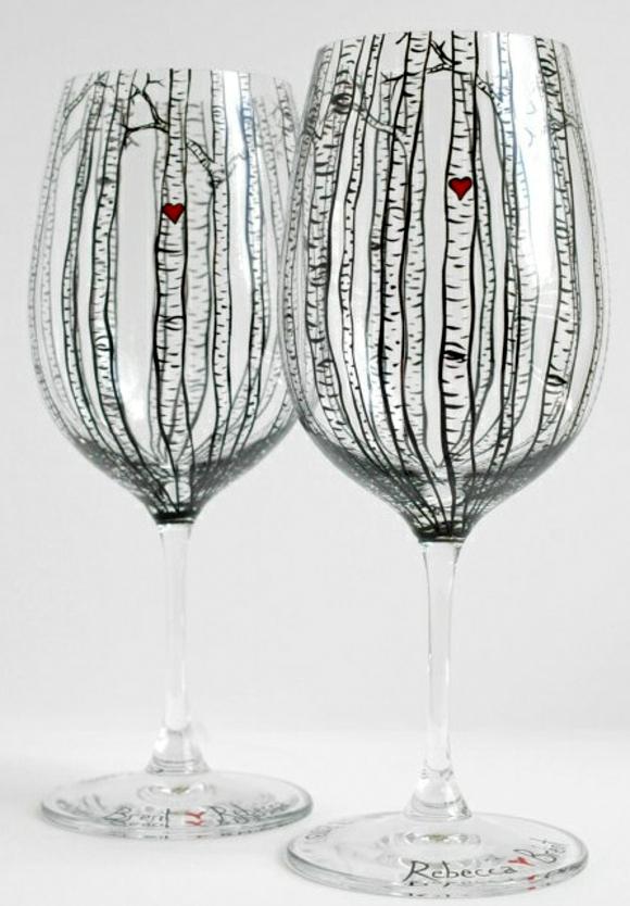 сватбени-чаши-декорация