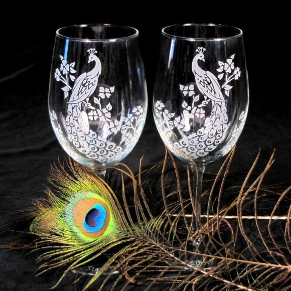 сватбени-чаши-пауни