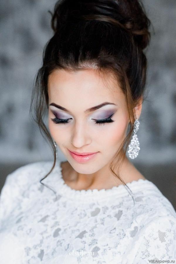 сватбен-грим-идеи-лилаво