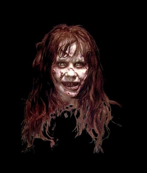 страшни маски за хелоуин демон