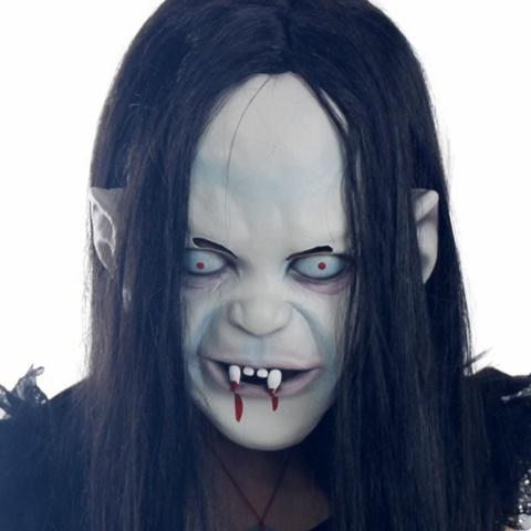 страшни маски хелоуин вампир