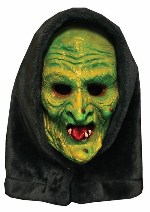страшни маски хелоуин вещица