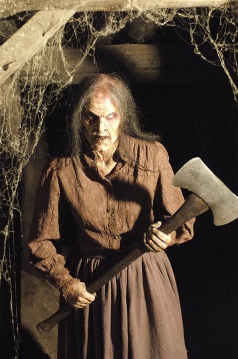 страшни маски хелоуин зомби