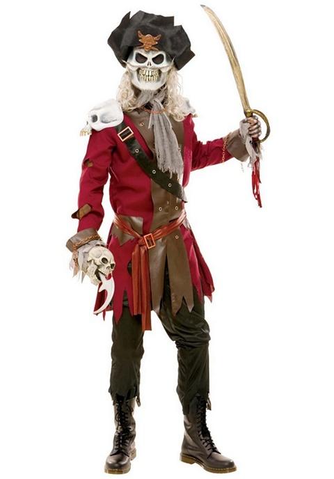 страшни маски хелоуин пиратски