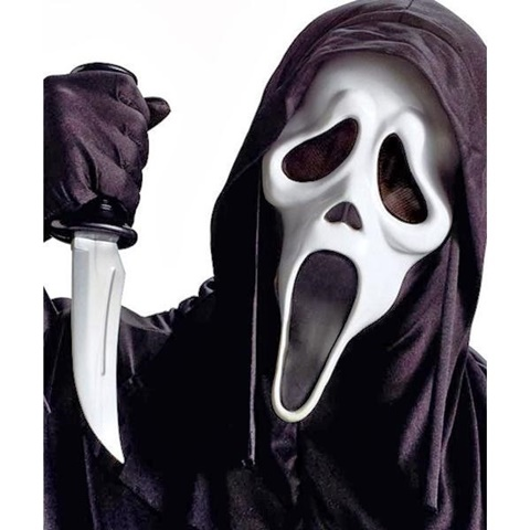 страшни маски хелоуин призрак