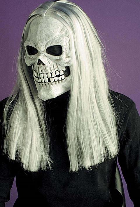 страшни маски хелоуин скелет