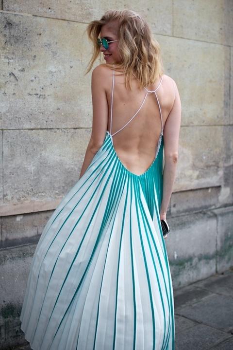 стрийт стайл рокли гол гръб лятна
