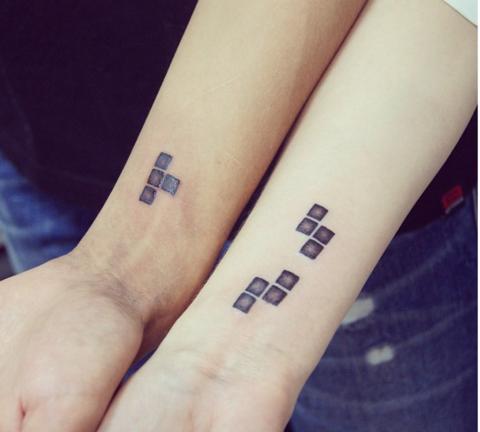 татуировки-за-двойки-пъзел