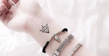 татуировки-за-жени-диамант