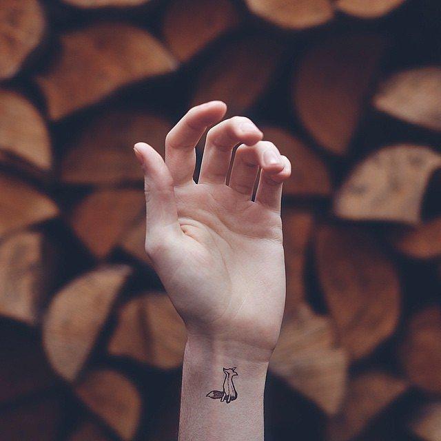 татуировки-за-жени-лисица