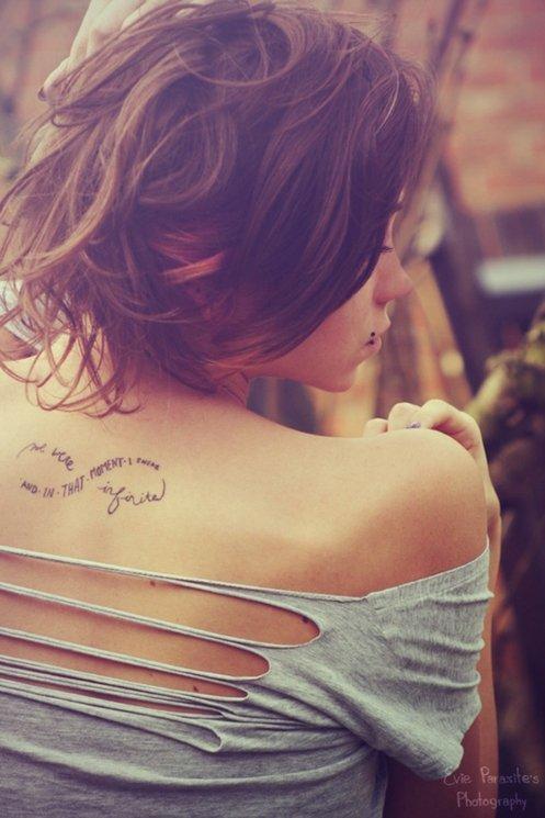 татуировки-за-жени-с-надписи-безкрайност