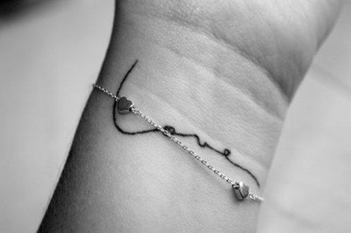 татуировки-за-жени-с-надписи-китка