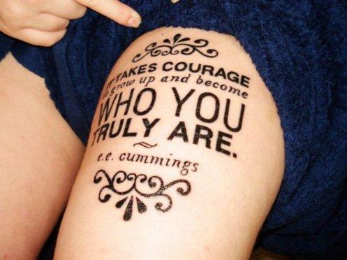 татуировки-за-жени-с-надписи-на-ръка