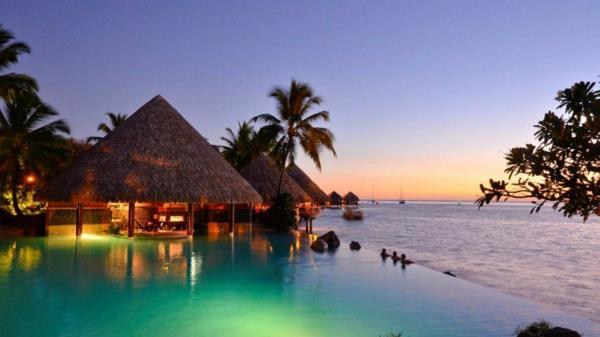 дестинации за сватбено пътешествие таити море