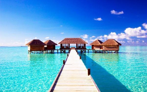 топ дестинации сватбено пътешествие таити палми пясък