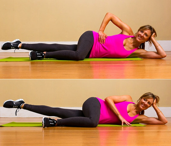 упражнения за стегнати бедра крака поза