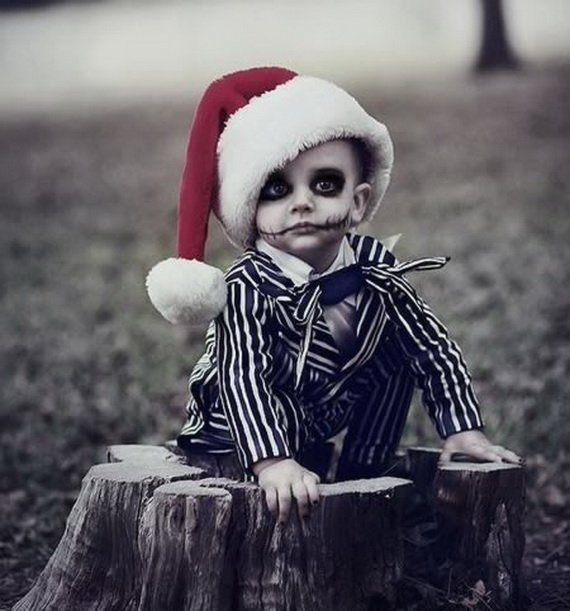 Хелоуин грим за деца