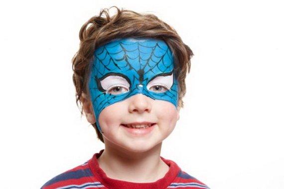 Хелоуин грим деца спайдърмен