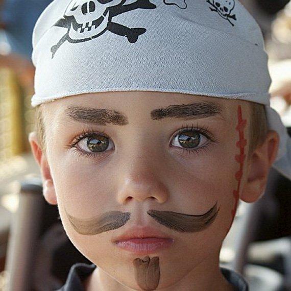 Хелоуин грим деца момче