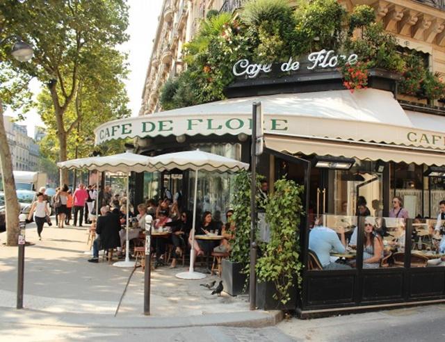 хубави ресторанти в париж кафе де флор