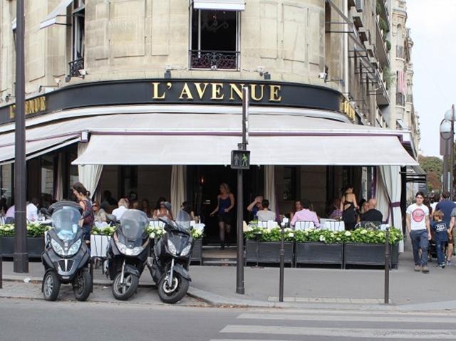 хубави ресторанти в париж лавеню