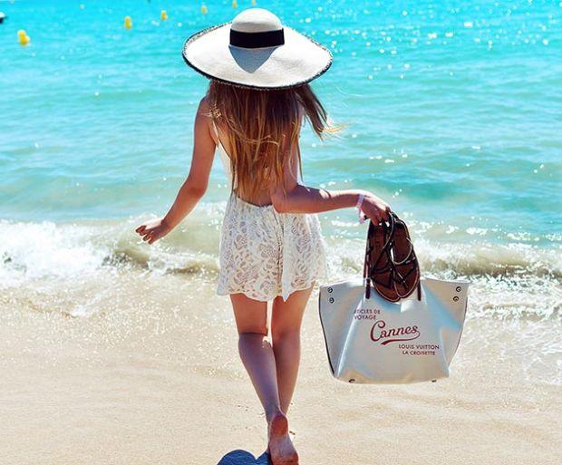 чанта за лятото плаж