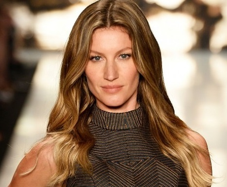 bronde hairstyle Gisele Bundchen