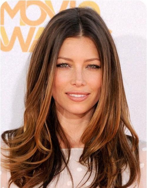 bronde hairstyle jessica biel