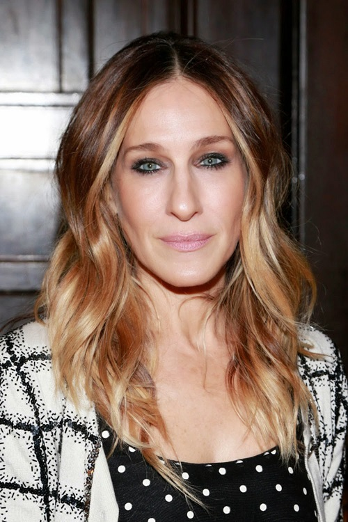 bronde hairstyle sarah jessica parker
