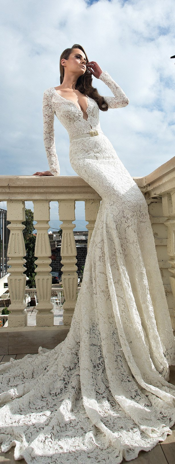 булченски рокли дантела дълъг ръкав