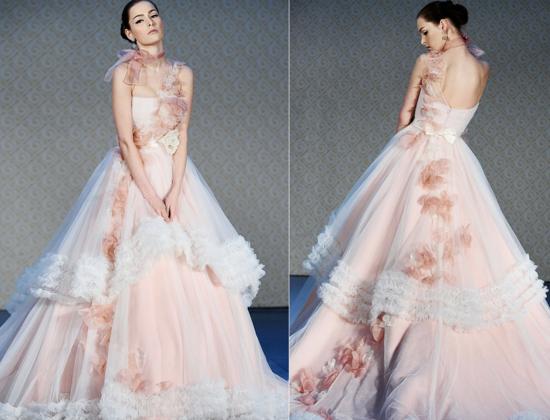 булчински рокли розово