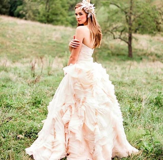 булчински рокли в розово