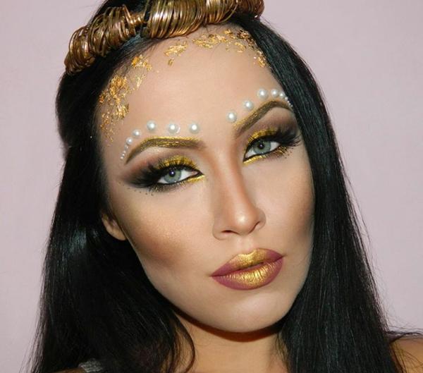 грим-за-хелоуин-гръцка-богиня
