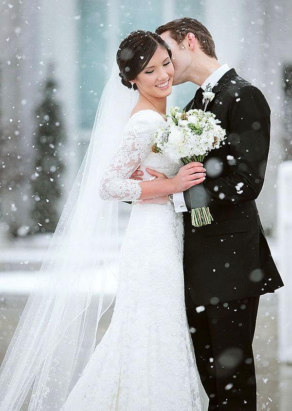 zimni svatbeni rokli