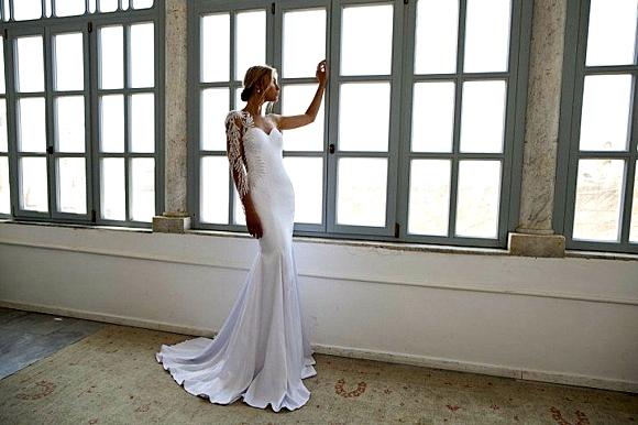 зимни сватбени рокли